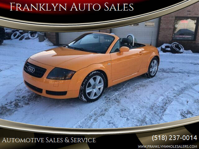 2004 Audi TT for sale at Franklyn Auto Sales in Cohoes NY