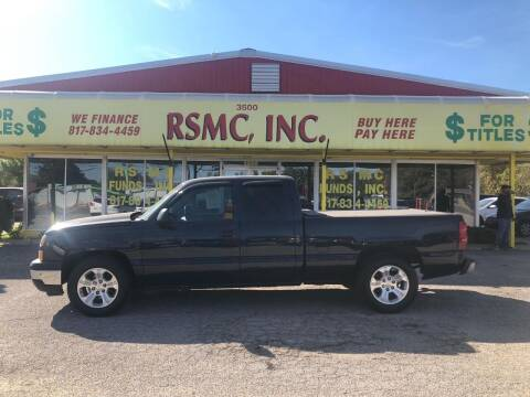 2007 Chevrolet Silverado 1500 Classic for sale at Ron Self Motor Company in Fort Worth TX
