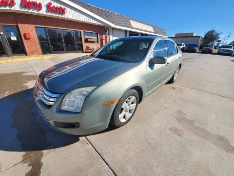 2008 Ford Fusion for sale at Eden's Auto Sales in Valley Center KS