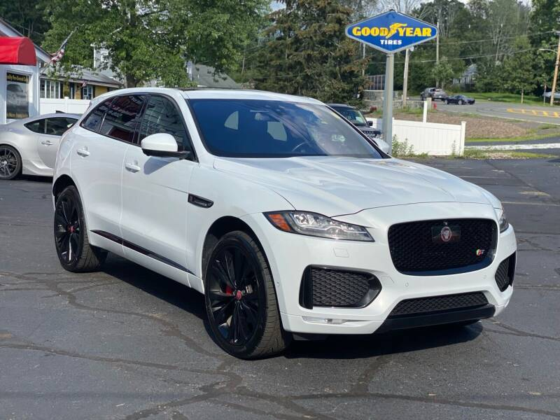 2017 Jaguar F-PACE for sale at Milford Automall Sales and Service in Bellingham MA