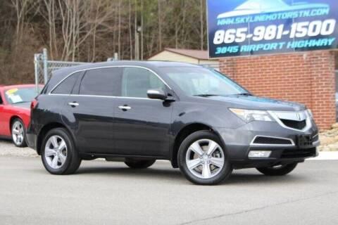 2012 Acura MDX for sale at Skyline Motors in Louisville TN