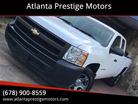 2011 Chevrolet Silverado 1500 for sale at Atlanta Prestige Motors in Decatur GA