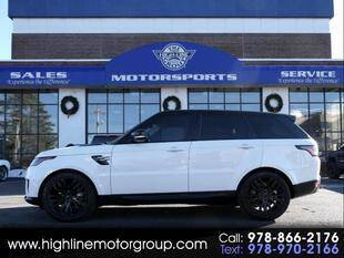 2018 Land Rover Range Rover Sport for sale at Highline Group Motorsports in Lowell MA