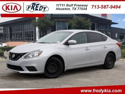 2017 Nissan Sentra for sale at FREDY KIA USED CARS in Houston TX