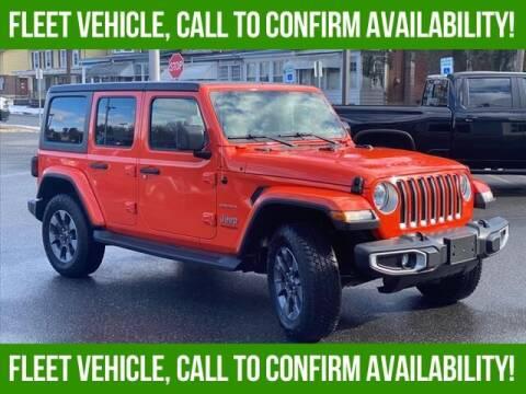 2018 Jeep Wrangler Unlimited for sale at Bob Weaver Auto in Pottsville PA