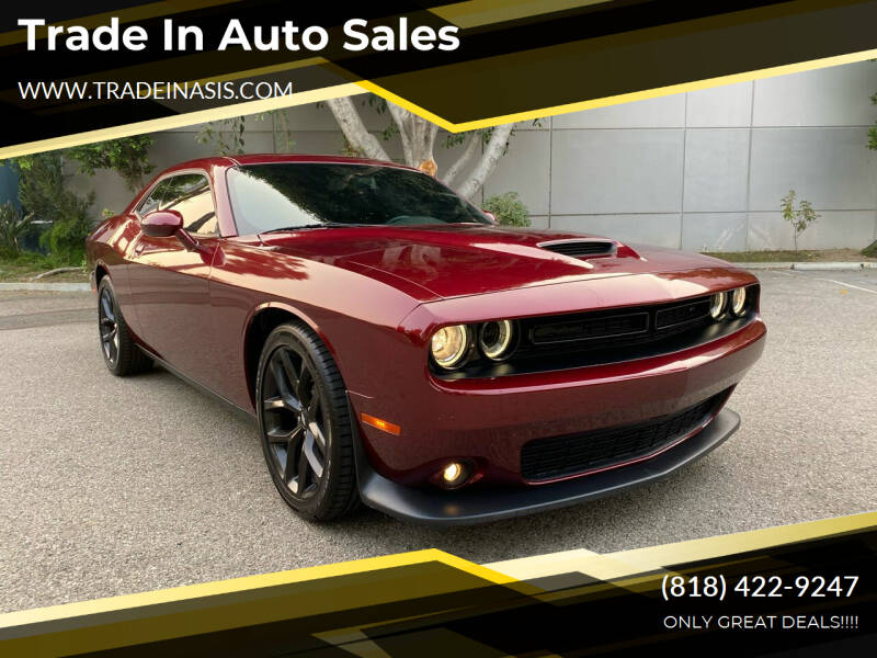 2019 Dodge Challenger for sale at Trade In Auto Sales in Van Nuys CA