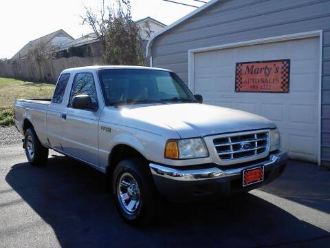 2001 Ford Ranger for sale at Marty's Auto Sales in Lenoir City TN