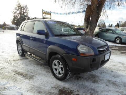 2009 Hyundai Tucson for sale at VALLEY MOTORS in Kalispell MT