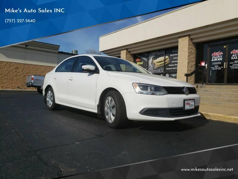 2012 Volkswagen Jetta for sale at Mike's Auto Sales INC in Chesapeake VA