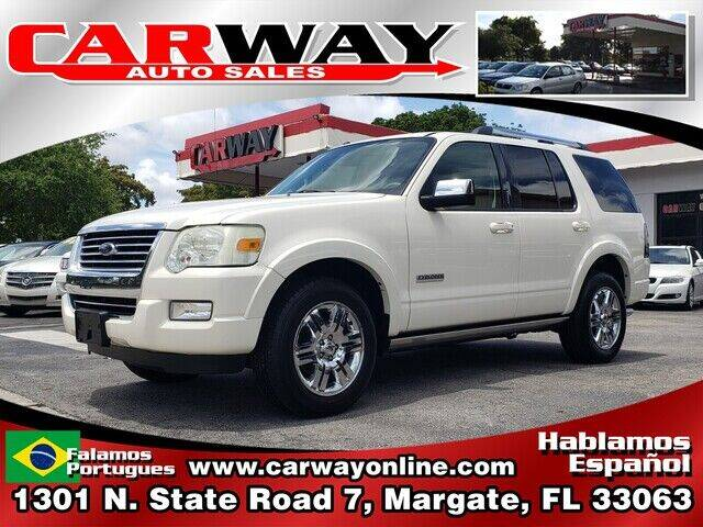 2008 Ford Explorer for sale at CARWAY Auto Sales in Margate FL
