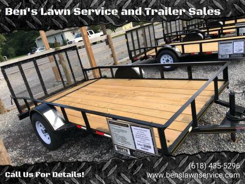 2018 Trailer Express 12' Non Tilt for sale at Ben's Lawn Service and Trailer Sales in Benton IL