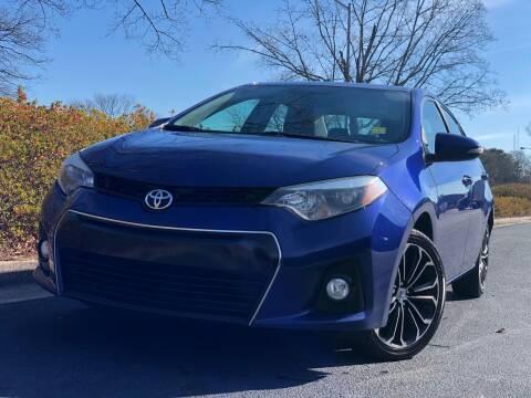2016 Toyota Corolla for sale at William D Auto Sales in Norcross GA