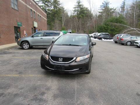 2013 Honda Civic for sale at Heritage Truck and Auto Inc. in Londonderry NH