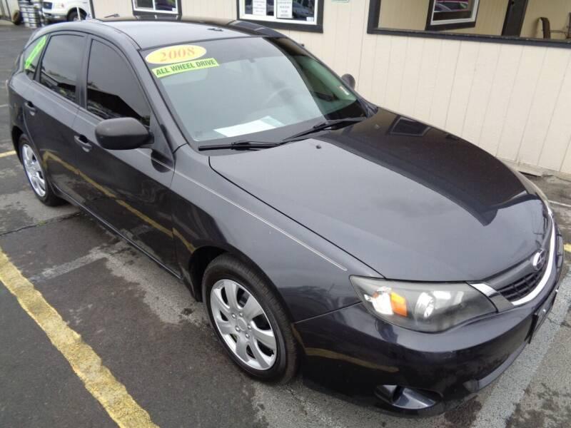 2008 Subaru Impreza for sale at BBL Auto Sales in Yakima WA