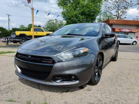 2015 Dodge Dart for sale at Lamarina Auto Sales in Dearborn Heights MI