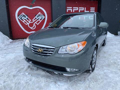 2010 Hyundai Elantra for sale at Apple Auto Sales Inc in Camillus NY