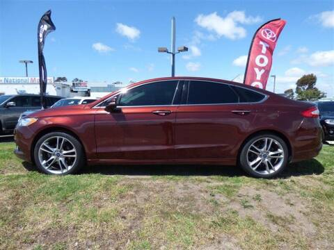 2015 Ford Fusion for sale at National Motors in San Diego CA