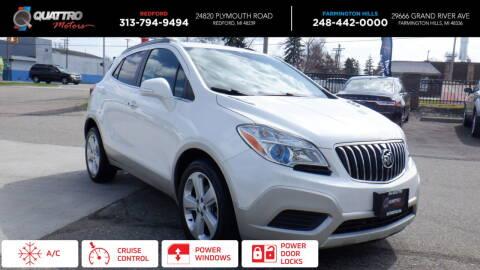2015 Buick Encore for sale at Quattro Motors 2 - 1 in Redford MI