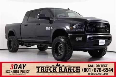 2018 RAM Ram Pickup 3500 for sale at Truck Ranch in American Fork UT