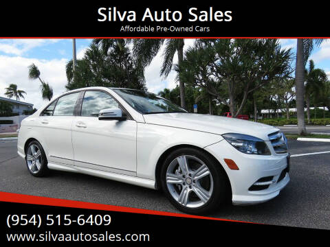 2011 Mercedes-Benz C-Class for sale at Silva Auto Sales in Pompano Beach FL