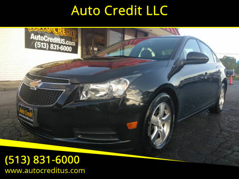 2012 Chevrolet Cruze for sale at Auto Credit LLC in Milford OH
