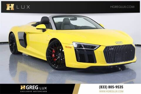 2017 Audi R8 for sale at HGREG LUX EXCLUSIVE MOTORCARS in Pompano Beach FL