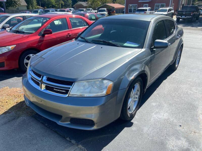 2012 Dodge Avenger for sale at Sartins Auto Sales in Dyersburg TN