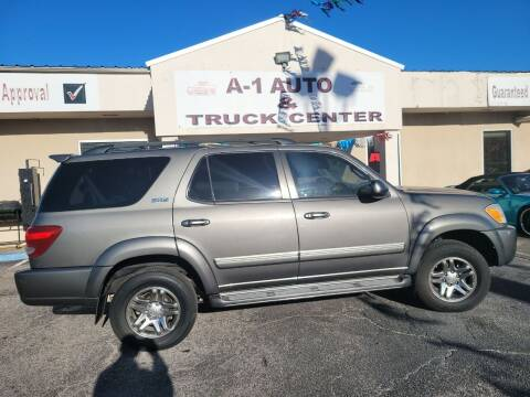 2007 Toyota Sequoia for sale at A-1 AUTO AND TRUCK CENTER in Memphis TN
