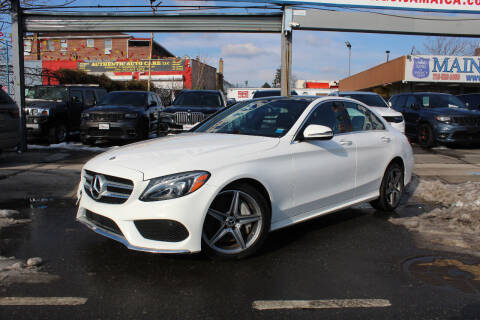2018 Mercedes-Benz C-Class for sale at MIKEY AUTO INC in Hollis NY