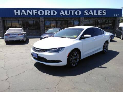 2016 Chrysler 200 for sale at Hanford Auto Sales in Hanford CA