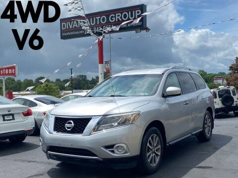 2013 Nissan Pathfinder for sale at Divan Auto Group in Feasterville Trevose PA