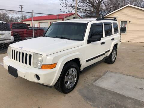 2006 Jeep Commander for sale at D & M Vehicle LLC in Oklahoma City OK