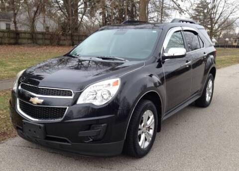 2012 Chevrolet Equinox for sale at A F SALES & SERVICE in Indianapolis IN