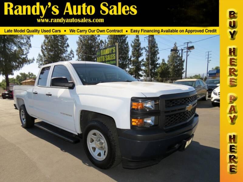 2015 Chevrolet Silverado 1500 for sale at Randy's Auto Sales in Ontario CA