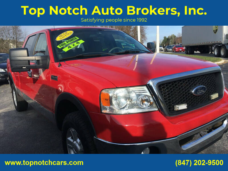 2008 Ford F-150 for sale at Top Notch Auto Brokers, Inc. in Palatine IL