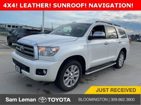 2017 Toyota Sequoia for sale at Sam Leman Toyota Bloomington in Bloomington IL