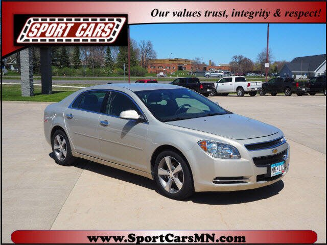 2012 Chevrolet Malibu for sale at SPORT CARS in Norwood MN