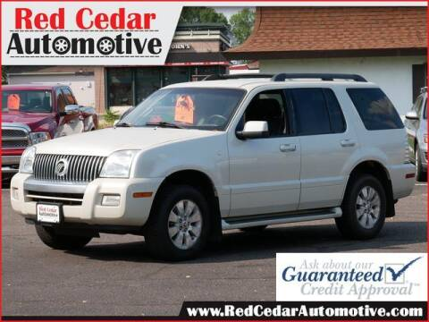 2006 Mercury Mountaineer for sale at Red Cedar Automotive in Menomonie WI