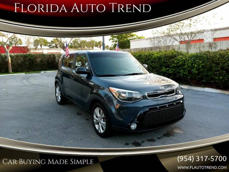 2016 Kia Soul for sale at Florida Auto Trend in Plantation FL