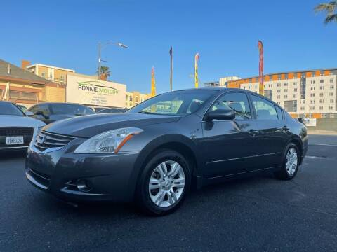 2012 Nissan Altima for sale at Ronnie Motors LLC in San Jose CA