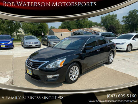 2015 Nissan Altima for sale at Bob Waterson Motorsports in South Elgin IL