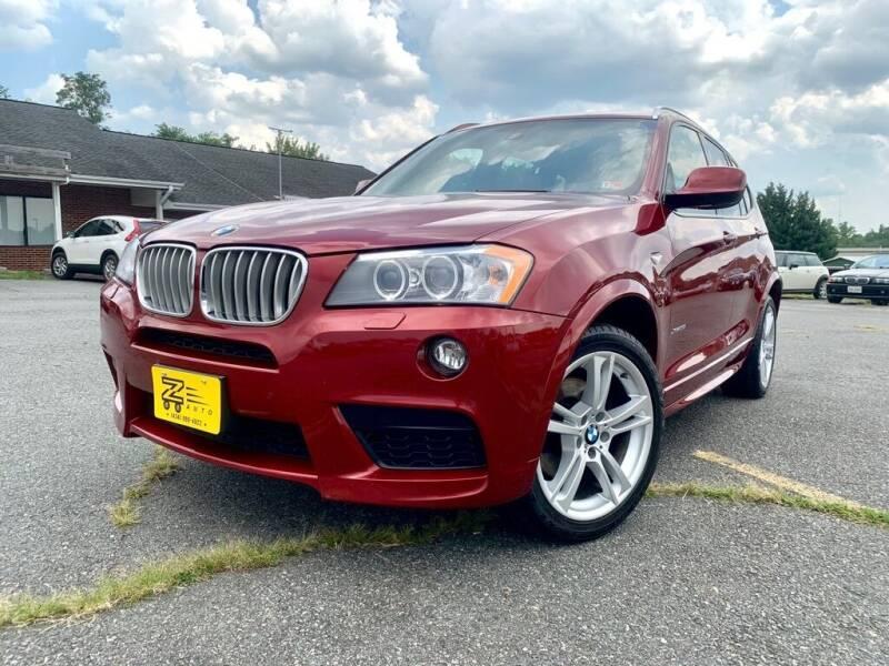 2014 BMW X3 for sale at Z Auto in Ruckersville VA