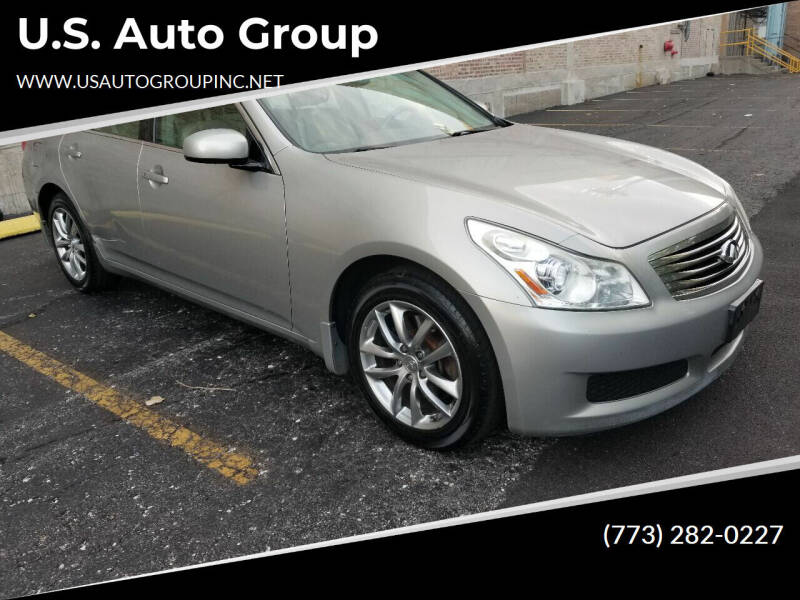 2008 Infiniti G35 for sale at U.S. Auto Group in Chicago IL