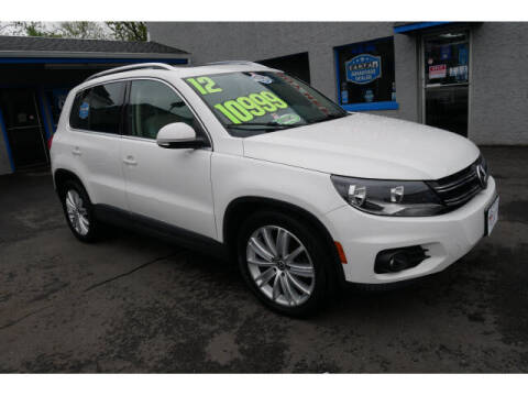 2012 Volkswagen Tiguan for sale at M & R Auto Sales INC. in North Plainfield NJ