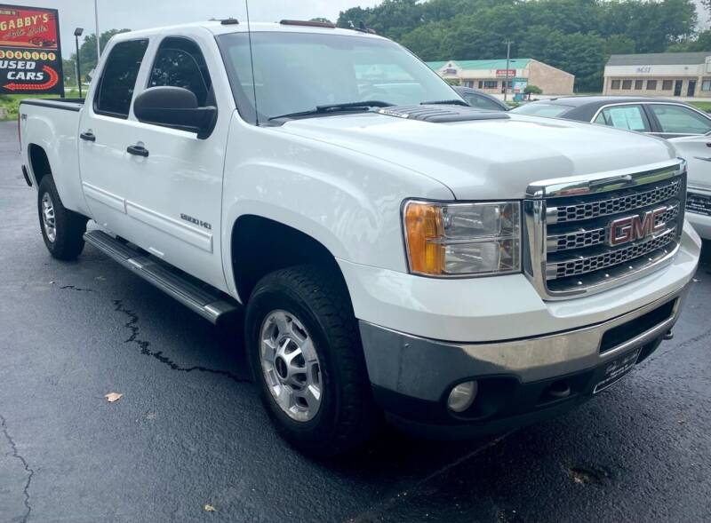 2014 GMC Sierra 2500HD for sale at GABBY'S AUTO SALES in Valparaiso IN