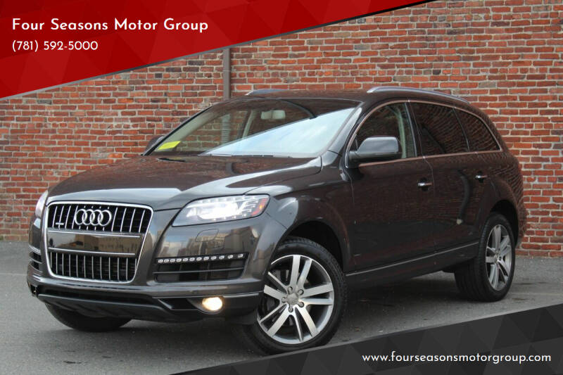 2014 Audi Q7 for sale at Four Seasons Motor Group in Swampscott MA