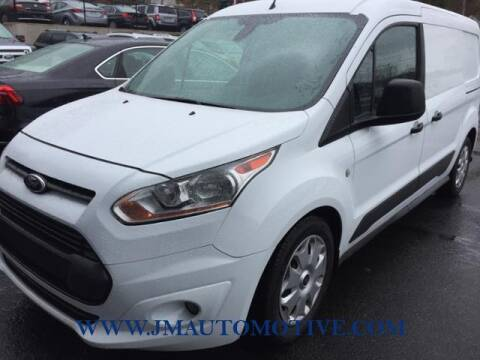 2016 Ford Transit Connect Cargo for sale at J & M Automotive in Naugatuck CT