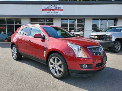 2013 Cadillac SRX for sale at Landes Family Auto Sales in Attleboro MA