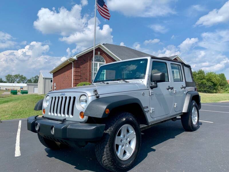 2010 Jeep Wrangler Unlimited for sale at HillView Motors in Shepherdsville KY