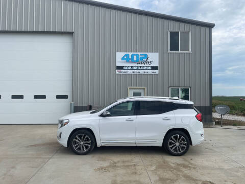 2019 GMC Terrain for sale at 402 Autos in Lindsay NE